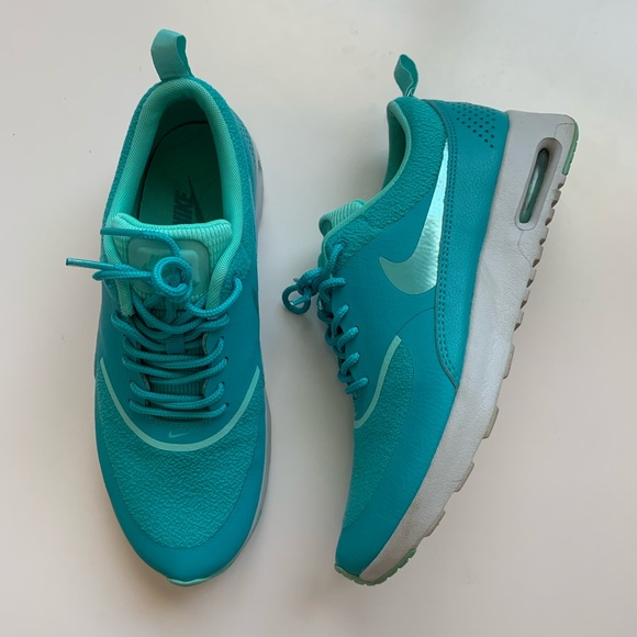 really cheap multiple colors arrives Nike Air Max Thea Women's 8 Teal blue green